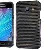 Insten Carbon Fiber Hard Cover Case For Samsung Galaxy J1 Black