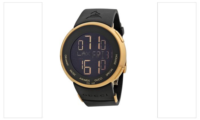 c45afab326a Gucci Grammy Edition Mens Watch YA114215