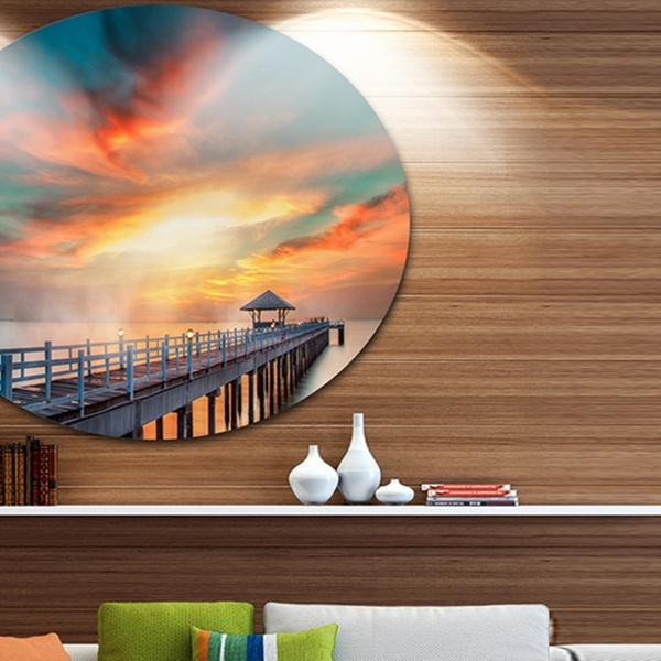 Up To 16 Off On Fascinating Sky And Wooden Br Groupon Goods