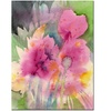 Sheila Golden Mouve Garden Canvas Print