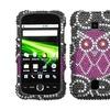 Insten Owl Diamante Case for HUAWEI: M860 (Ascend)
