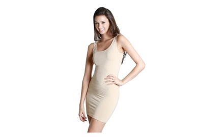 Plain Jersey Tank Dress