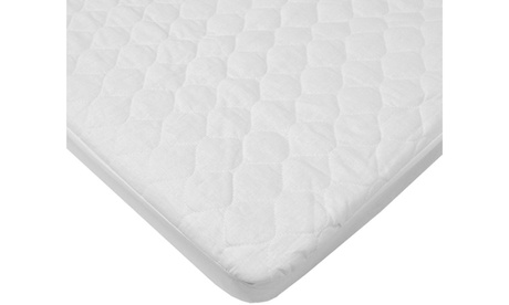 Quilted Bassinet Fitted Mattress Pad Cover 7866b55d-1975-4be8-b9ed-b4cd307dca9f