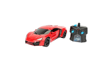 Jada Toys - Fast and Furious 8 1:16 Scale Lykan Kypersport with Remote Control 56d94a71-9159-4a0f-aa62-ad15e2927298
