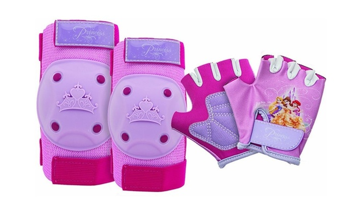 Disney Princess Pads and Gloves Protective Gear
