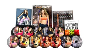 Jillian Michaels Bodyshred 12 Dvd Complete Workout Fitness Set