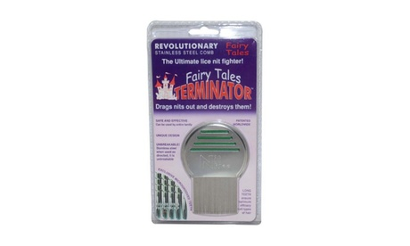 Terminator Metal Lice Comb by Fairy Tales for Kids - 1 pc Comb 18e30ab1-813a-4560-85a8-23c13f49bab7