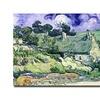 Vincent van Gogh Cottages at Auvers-sur-Oise Canvas Print
