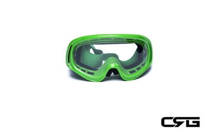 CRG Motocross ATV DIRT BIKE OFF ROAD RACING GOGGLES Adult T815-3-5