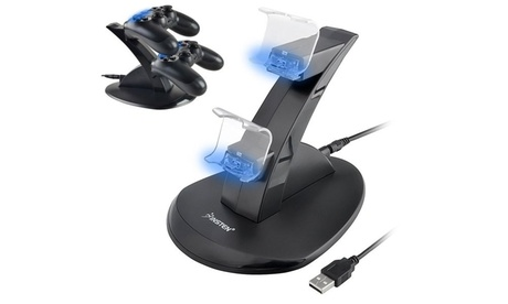 Insten Dual USB Charger Dock Station Stand for PS4 Controller 44dc634c-64dc-4cea-82d8-abac3bc6e8a7