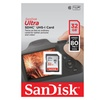 32GB Ultra Class 10 SDHC UHS-I Memory Card Up to 80MB/Waterproof