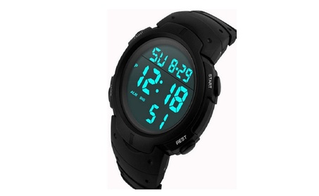 LCD Digital Stopwatch Date Rubber Sport Wrist Watch 9563dc88-a64b-4a83-a714-8428cf8528bd