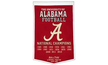 Winning Streak - NCAA Dynasty Banner, University of Alabama Crimson Tide 033194b6-d39a-43cb-bb49-c07eed8027cf