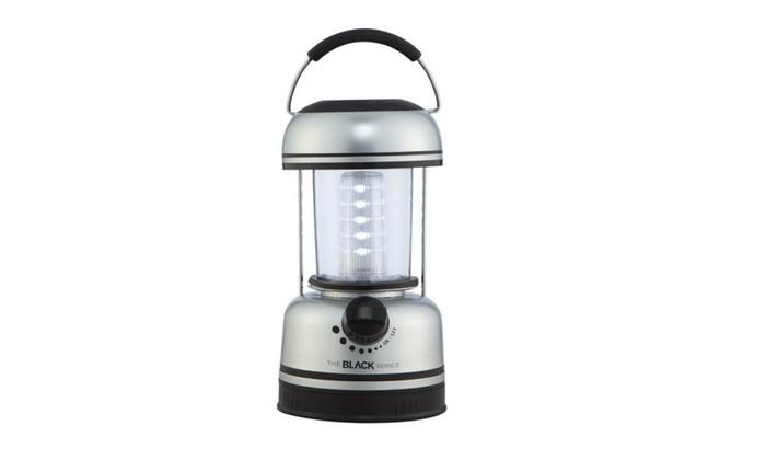 "Merchsource 1803027 The Black Series Led Lantern 9""x4.5"""
