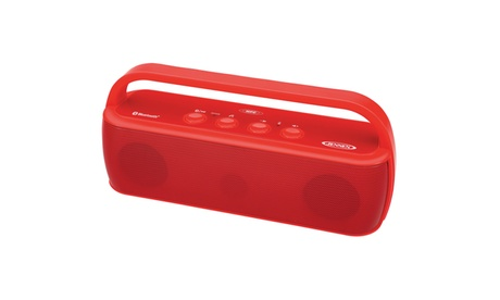 Bluetooth Portable Wireless Stereo Speaker Red 8586f858-a545-49ff-98f5-4efaa88ad482