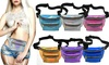 Holographic Fanny Pack Waterproof PU Laser Travel Purse Waist Bag