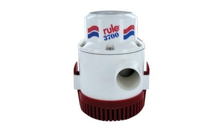 Rule 3700 G.P.H. Bilge Pump Non Automatic 12V photo