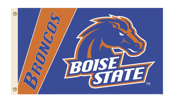 NCAA Boise State Broncos 2-Sided 3 Ft. X 5 Ft. Flag with Grommets