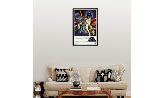 Star Wars - Episode IV New Hope - Classic Movie Poster | Groupon