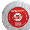 Upg 22-gauge, 4-conductor Alarm White Cable, 500ft Speedbag (stranded)
