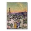 Vincent Van Gogh Moonlit Landscape 1889 Canvas Print