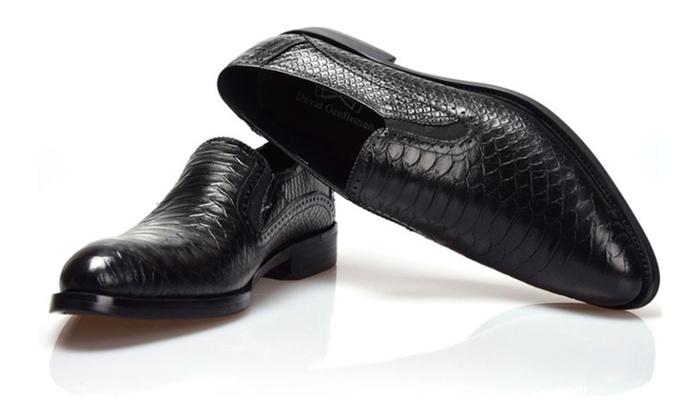 Shefetch Men's Autumn Duralable Sport Leather Shoes
