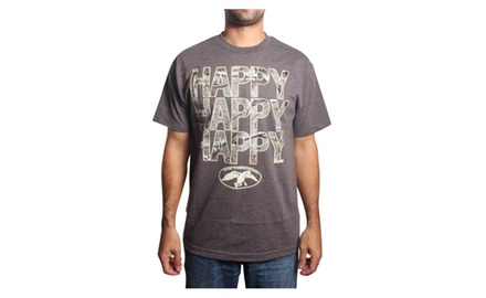 Duck Commander Camo Happy Happy Happy - HTR Charcoal T-shirt