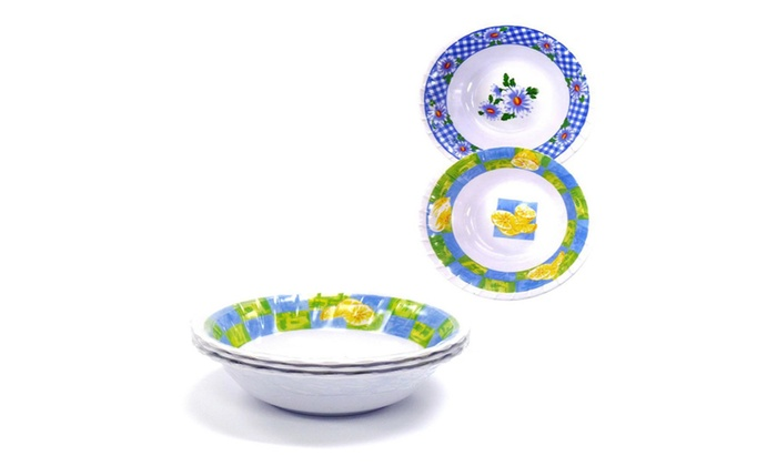 Buy It Now : Cereal Bowls Set 3 pc 7.5 (Pack of 2), Back To School,Assorted Designs