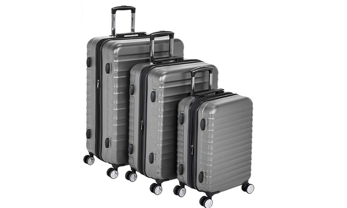 cf054f312977 Up To 50% Off on Premium Hardside Spinner Lugg... | Groupon Goods
