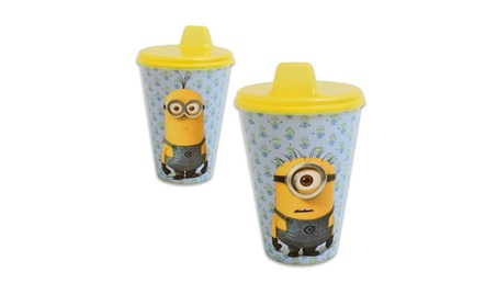Despicable Me, Minions Blue And Yellow On-the-go Sippy Cup f780e6eb-3fe9-456d-bbbb-09433687ae67