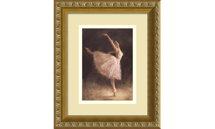 Richard Judson Zolan The Passion Of Dance Framed Art