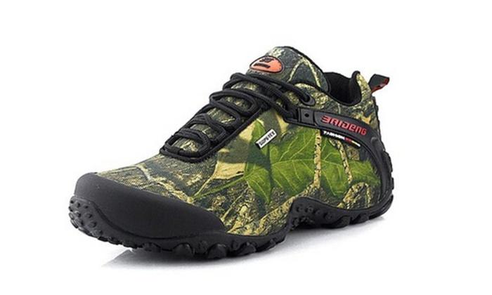 Men's Waterproof Hiking Outdoor Low Cut Boots