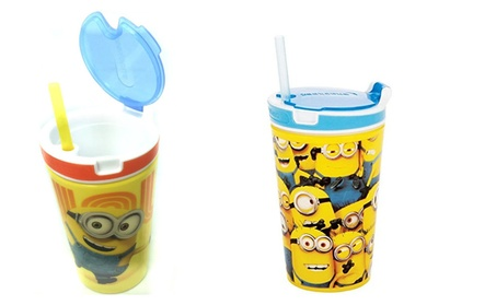 Basic 2 in 1 Snack & Drink Cup Great For Travel b86a11ae-e08f-4c24-8588-22a1a571de42