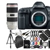 Canon EOS 5D Mark IV DSLR Camera with EF 50mm f/1.2L USM Lens 30PC Kit