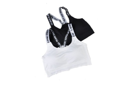Sports Bra, Workout Sling Padded Running Yoga Bra 58c01a08-a8d1-4476-8588-3c787dde0d03