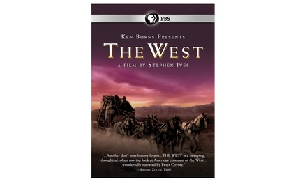 Ken Burns The West Dvd 5pk Groupon