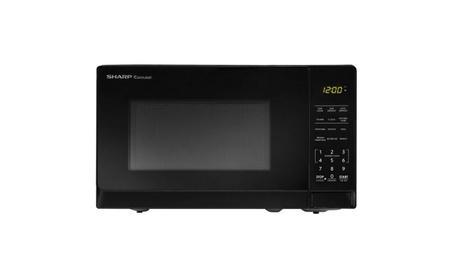 Sharp .7 Cu Ft Microwave, Black a259b052-1783-40c3-8c85-c240d4963e18