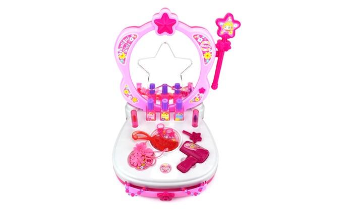 Velocity Toys Star Magic Princess Children S Toy Vanity Mirror Playset
