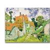 Vincent Van Gogh Street in Auvers-sur-Oise Canvas Print