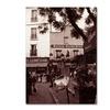Kathy Yates Maison Catherine Montmartre Canvas Print
