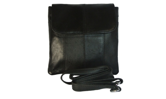 5a3b77123b39 Women's Leather Waist Belt Bag Converts to Cross Body Purse - Small