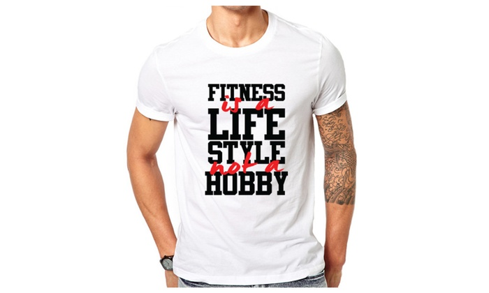 Fitness Is Not A Hobby Funny T-shirt