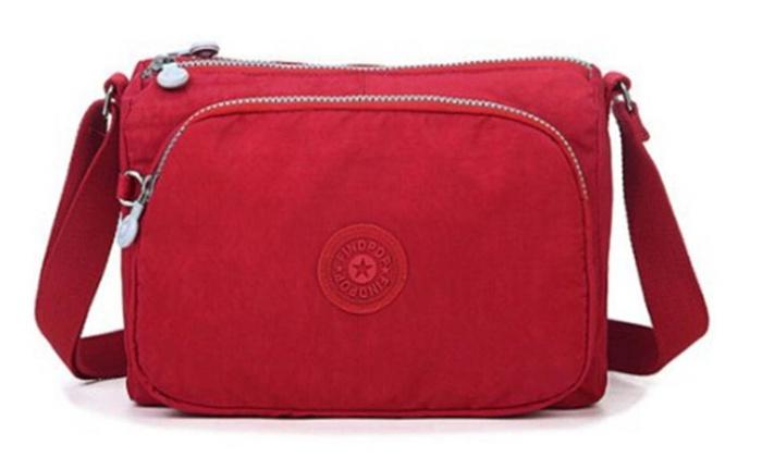 Women's Causal Lightweight Waterproof Canvas Crossbody Bag