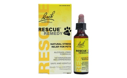 Bach Rescue Remedy Pet Natural Stress Relief