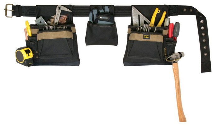 Tool Belt 11pkt 4pc
