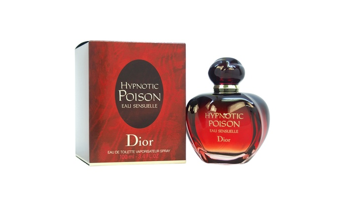 christian dior hypnotic poison eau sensuelle women 3 4 oz edt spray groupon. Black Bedroom Furniture Sets. Home Design Ideas