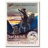 Georges Rochegrosse Don Quichotte 1910 Canvas Print