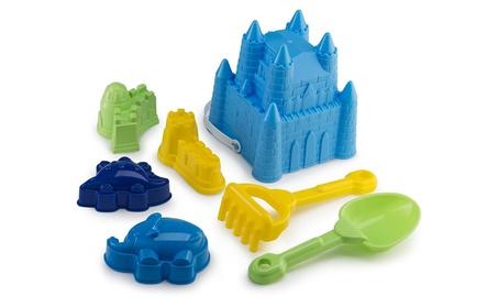 Sand Castle Bucket Tool Set 7 Pcs with Animal Molds Beach Play Set 6c98c78d-eda6-4b00-b304-014c4c33c63d