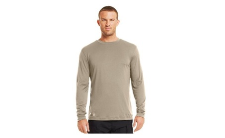 Under Armour Heatgear Tac L/S T-Shirt Small Desert Sand 709e67c0-6fcc-44b0-b26f-1ef178d3c65d