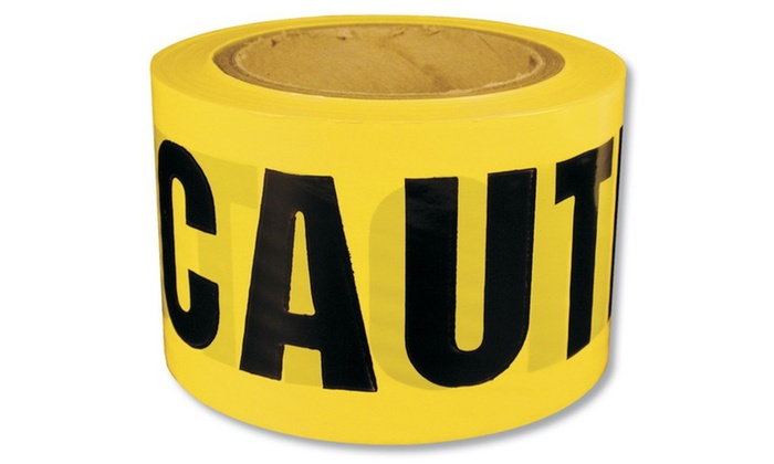 Caution Tape 3Inx300Ft